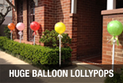 Balloon Lollypops - The Balloon Shop